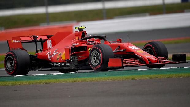 Charles Leclerc - Ferrari - 70 Jahre F1 Grand Prix - Silverstone