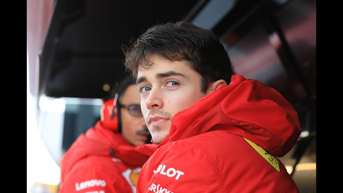 Charles Leclerc - Ferrari - Barcelona - F1-Test - 18. Februar 2019