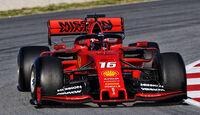 Charles Leclerc - Ferrari - Barcelona - F1-Test - 26. Februar 2019