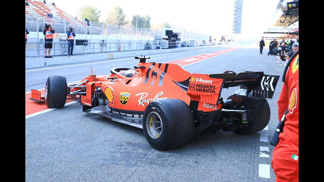 Charles Leclerc - Ferrari - Barcelona - F1-Test - 27. Februar 2019