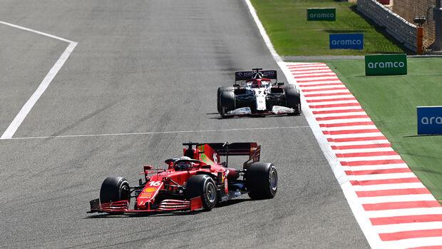 Charles Leclerc - Ferrari - F1 - Formel 1 - Testfahrten - Bahrain 2021