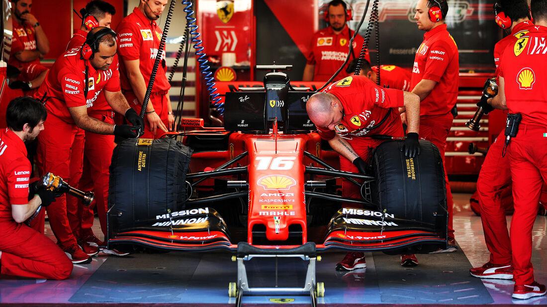 Charles Leclerc - Ferrari - F1-Test - Abu Dhabi - 4. Dezember 2019