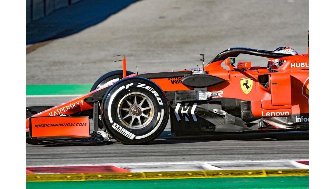 Charles Leclerc - Ferrari - F1-Test - Barcelona  - 14. Mai 2019