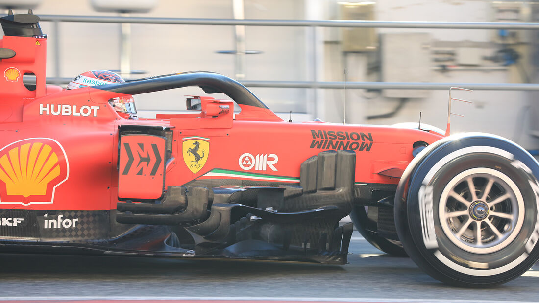 Charles Leclerc - Ferrari - F1-Test - Barcelona - 20. Februar 2020