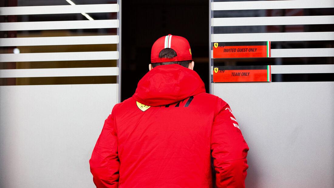 Charles Leclerc - Ferrari - F1-Test - Barcelona - 21. Februar 2020