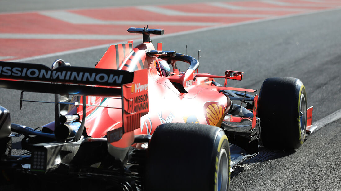 Charles Leclerc - Ferrari - F1-Test - Barcelona - 26. Februar 2020