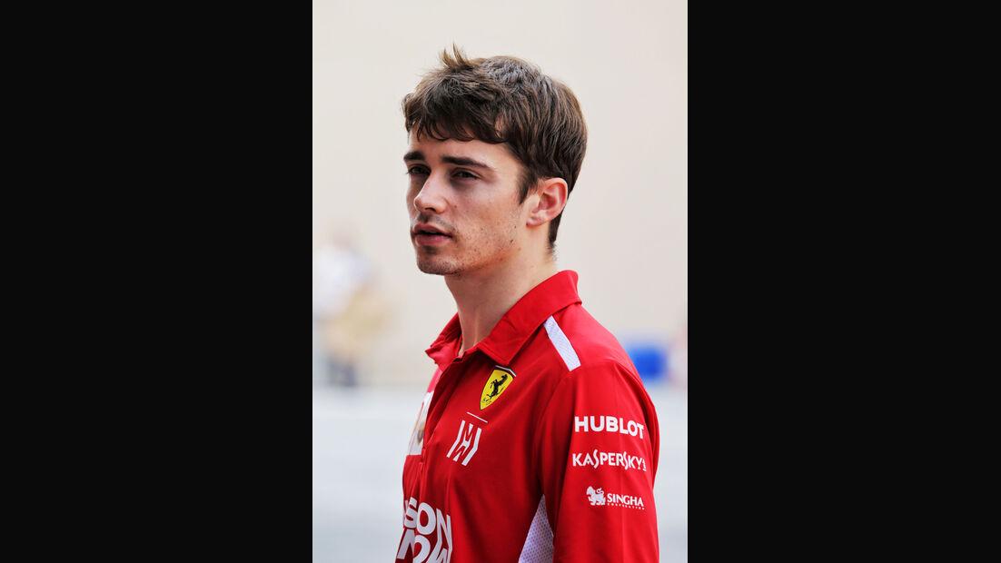 Charles Leclerc - Ferrari - F1-Testfahrten - Abu Dhabi - 27.11.2018