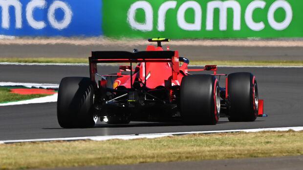 Charles Leclerc - Ferrari - Formel 1 - GP 70 Jahre F1 - England - Silverstone - 7. August 2020