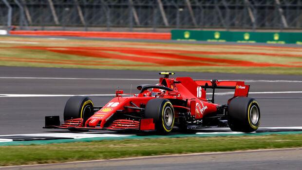 Charles Leclerc - Ferrari - Formel 1 - GP 70 Jahre F1 - Silverstone - Samstag - 8. August 2020