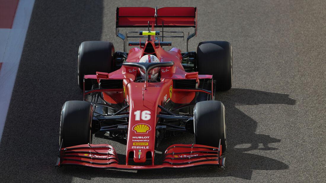 Charles Leclerc - Ferrari - Formel 1 - GP Abu Dhabi - Freitag - 11.12.2020