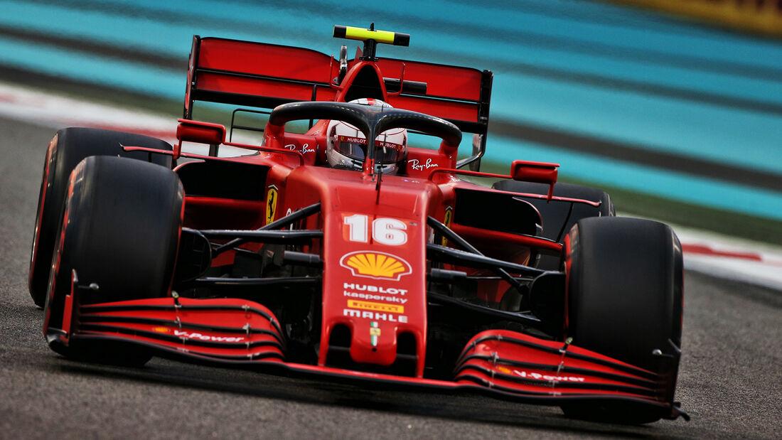 Charles Leclerc - Ferrari - Formel 1 - GP Abu Dhabi - Samstag - 12.12.2020