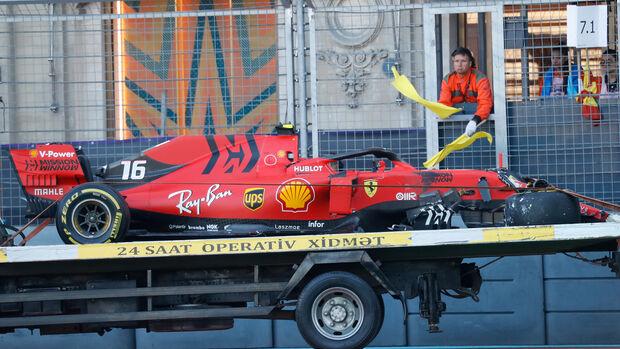Charles Leclerc - Ferrari - Formel 1 - GP Aserbaidschan - 27. April 2019