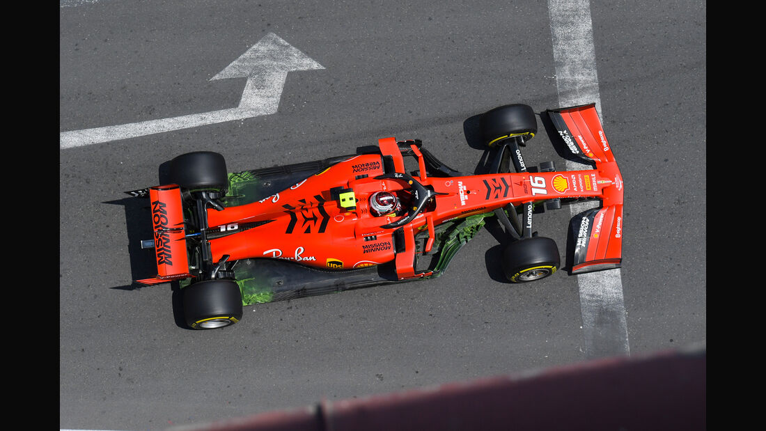Charles Leclerc - Ferrari - Formel 1 - GP Aserbaidschan - Baku - 26. April 2019