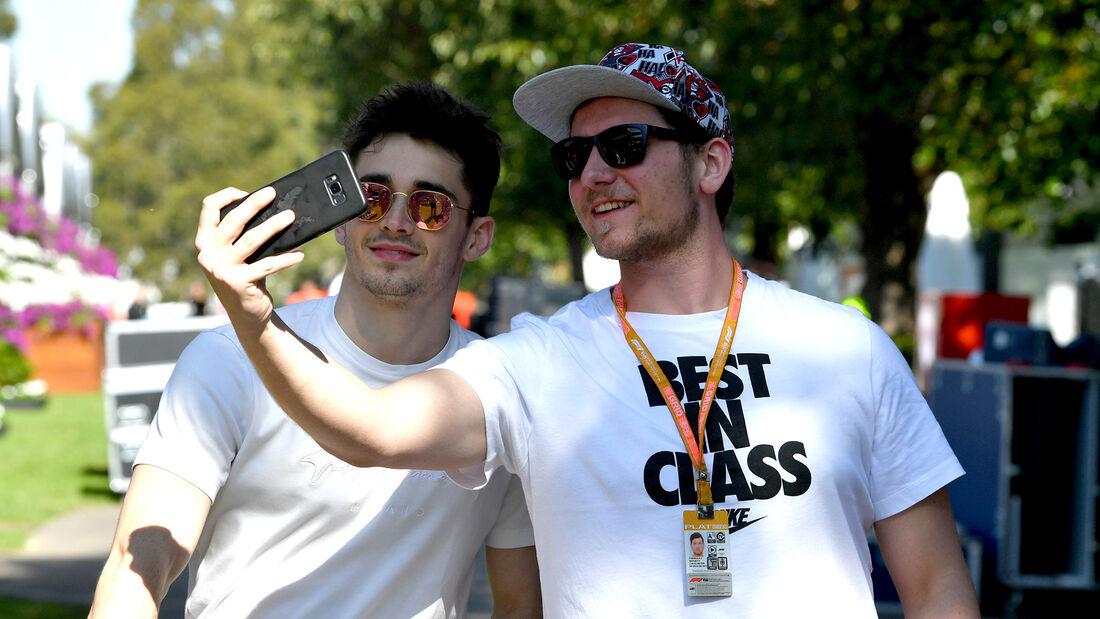 Charles Leclerc - Ferrari - Formel 1 - GP Australien - Melbourne - 11. März 2020