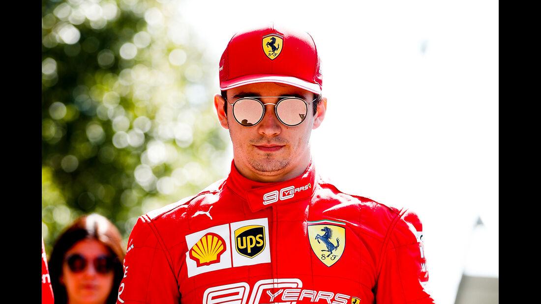 Charles Leclerc - Ferrari - Formel 1 - GP Australien - Melbourne - 14. März 2019