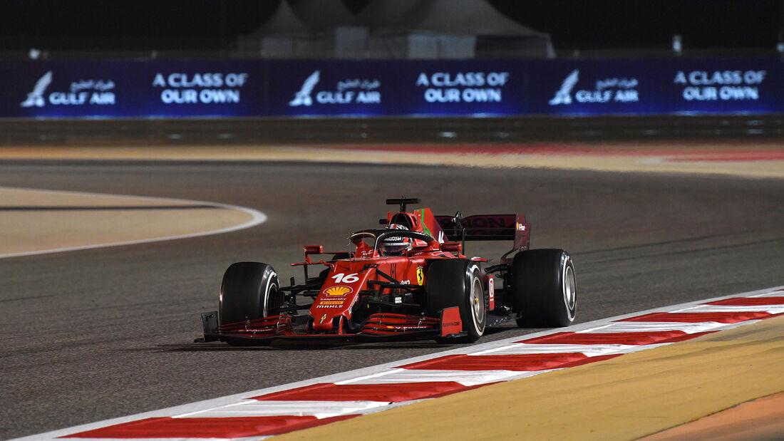 Charles Leclerc - Ferrari - Formel 1 - GP Bahrain 2021 - Rennen