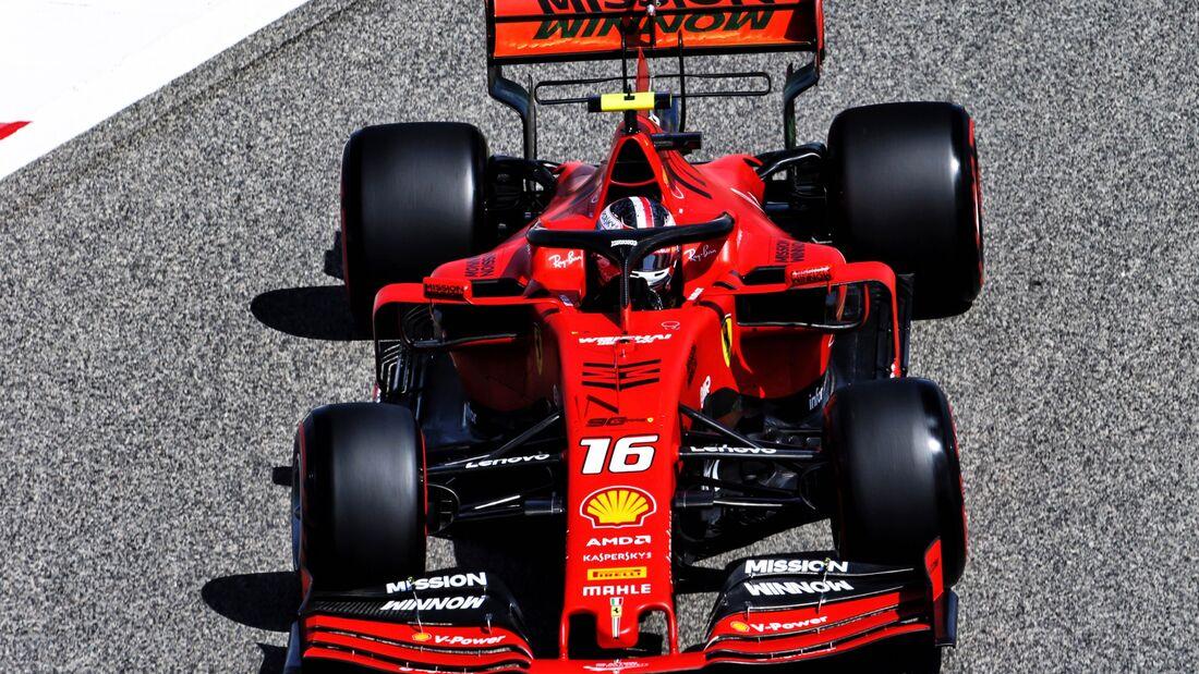 Charles Leclerc - Ferrari - Formel 1 - GP Bahrain - 29. März 2019