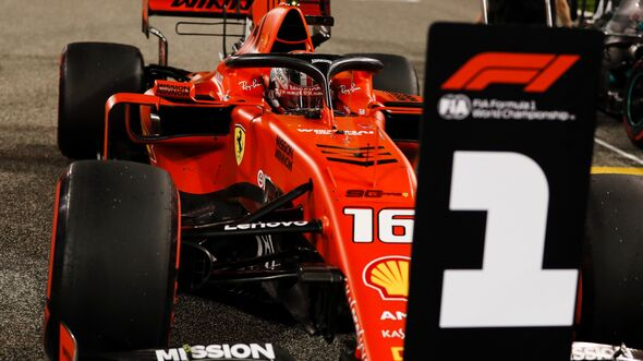Charles Leclerc - Ferrari - Formel 1 - GP Bahrain - 30. März 2019