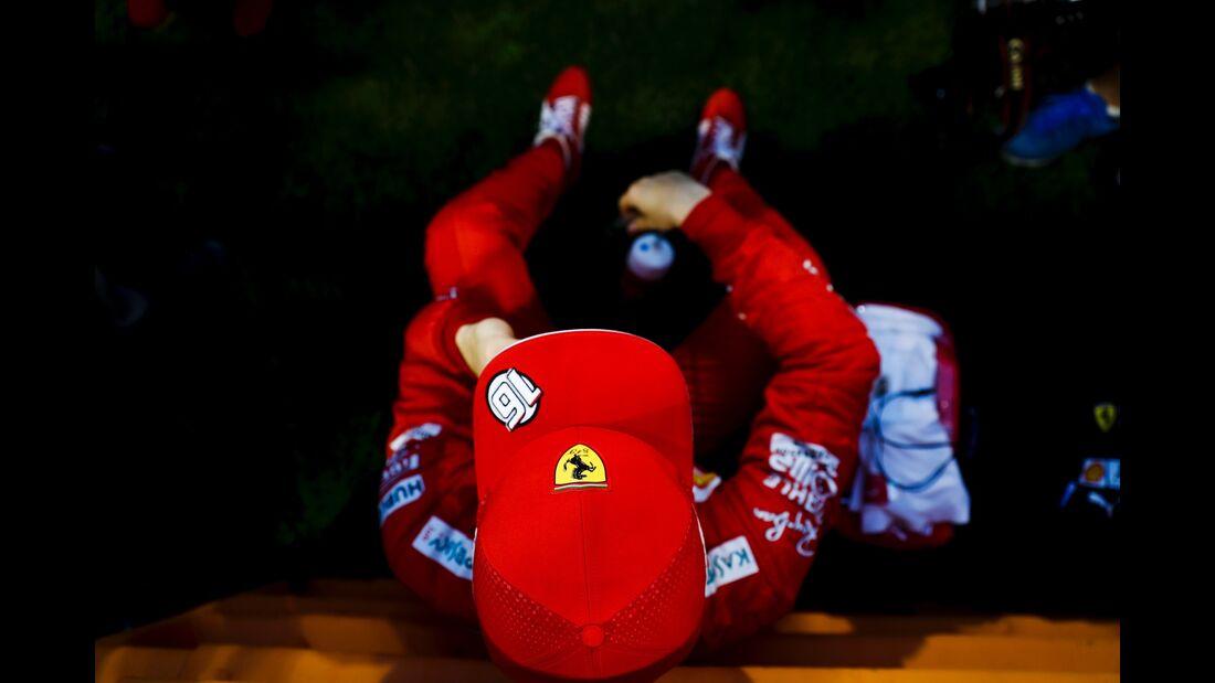 Charles Leclerc - Ferrari - Formel 1 - GP Bahrain - 31. März 2019