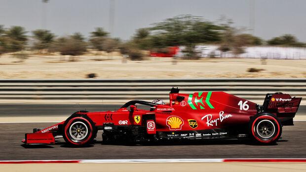 Charles Leclerc - Ferrari - Formel 1 - GP Bahrain - Freitag - 26.3.2021