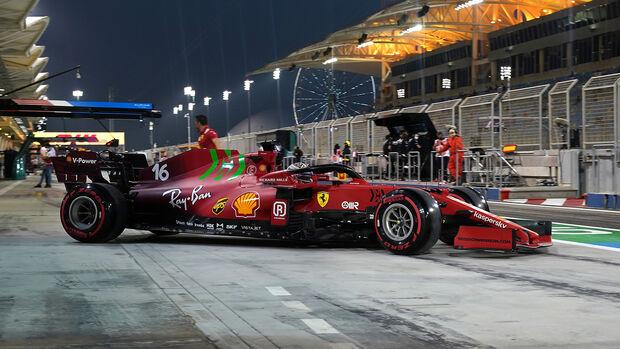 Charles Leclerc - Ferrari - Formel 1 - GP Bahrain - Qualifying - Samstag - 27.3.2021