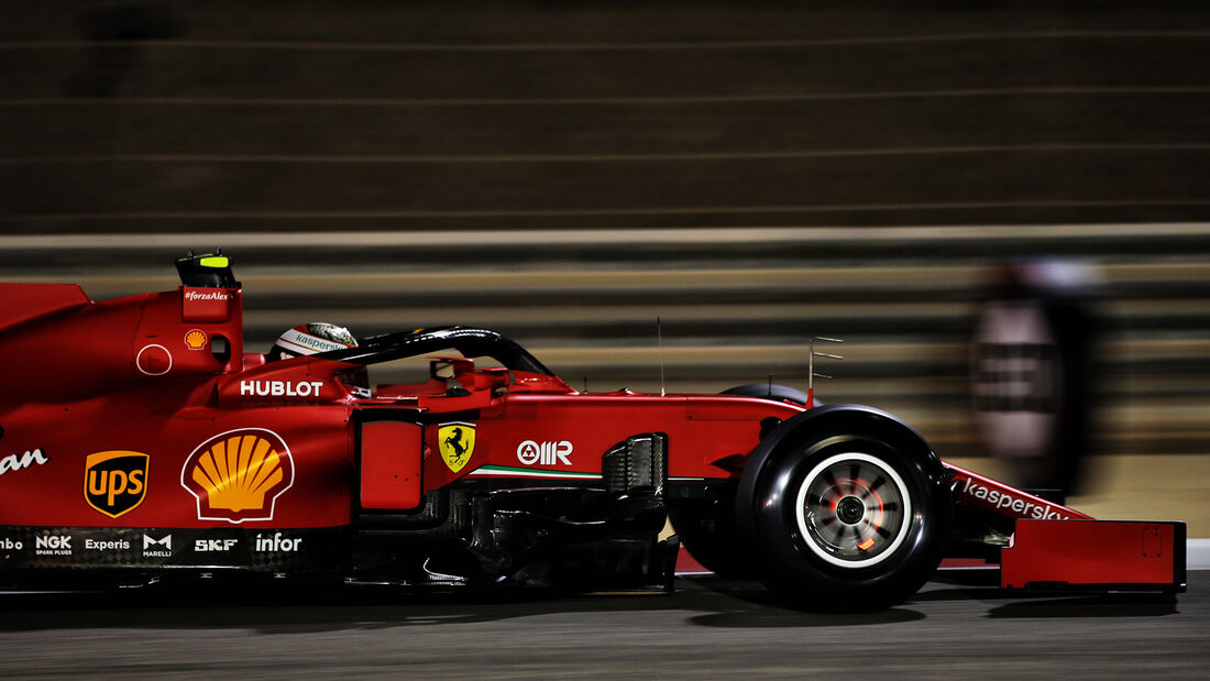 Charles Leclerc - Ferrari - Formel 1 - GP Bahrain - Sakhir - Freitag - 27.11.2020