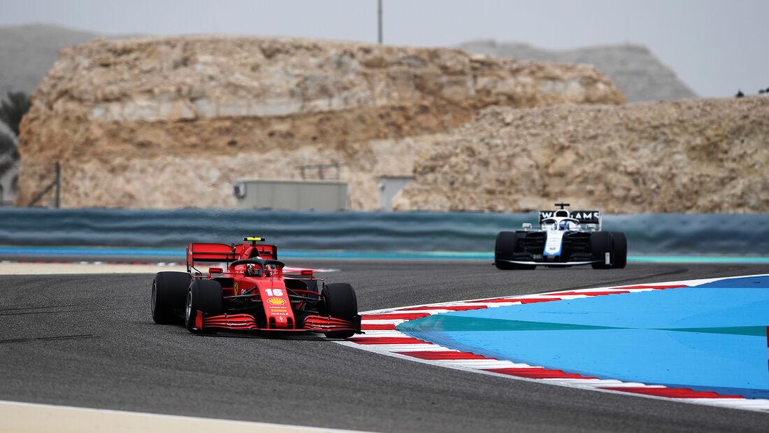 Charles Leclerc - Ferrari - Formel 1 - GP Bahrain- Sakhir - Freitag - 27.11.2020