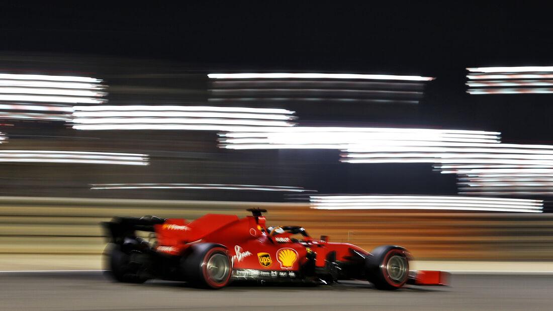 Charles Leclerc - Ferrari - Formel 1 - GP Bahrain - Sakhir - Qualifikation - Samstag - 28.11.2020
