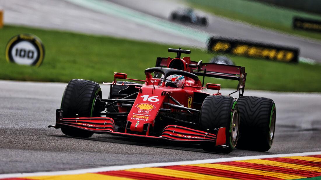 Charles Leclerc - Ferrari - Formel 1 - GP Belgien - 28. August 2021