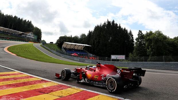 Charles Leclerc - Ferrari - Formel 1 - GP Belgien - Spa-Francorchamps - 27. August 2021