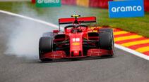 Charles Leclerc - Ferrari - Formel 1 - GP Belgien - Spa-Francorchamps - 28. August 2020