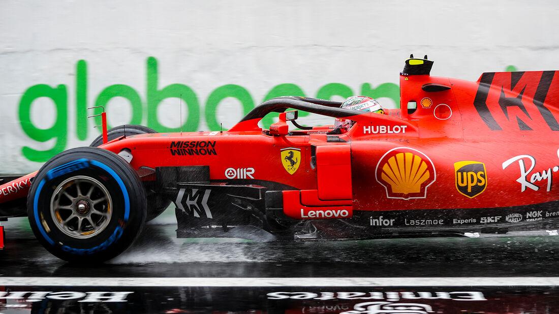 Charles Leclerc - Ferrari - Formel 1 - GP Brasilien - Sao Paulo - 15. November 2019