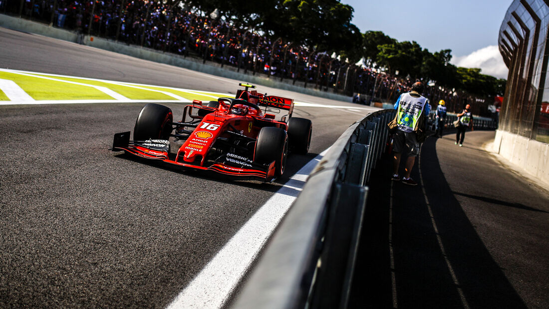 Charles Leclerc - Ferrari - Formel 1 - GP Brasilien - Sao Paulo - 16. November 2019