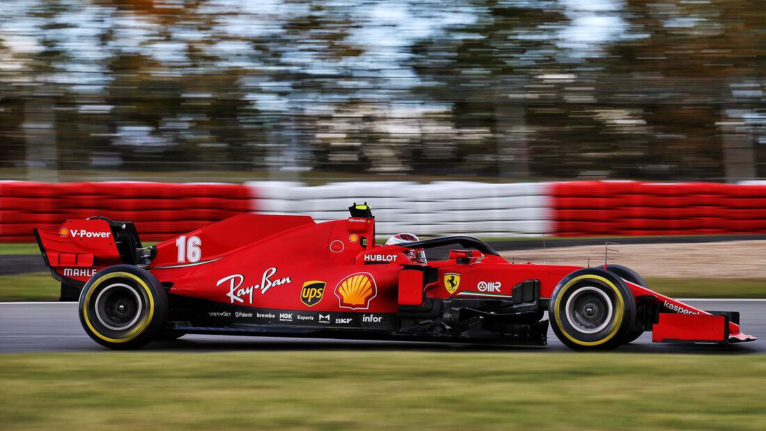 Charles Leclerc - Ferrari - Formel 1 - GP Eifel - Nürburgring - Samstag - 10.10.2020