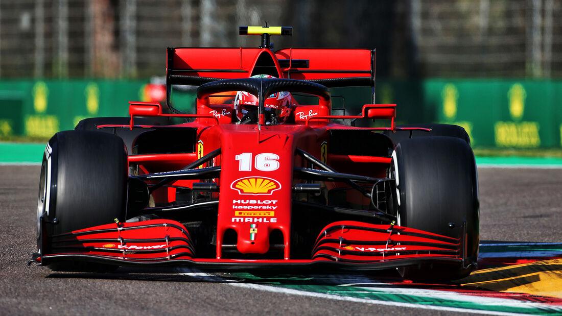 Charles Leclerc - Ferrari - Formel 1 - GP Emilia-Romagna - Imola - Samstag - 31.10.2020