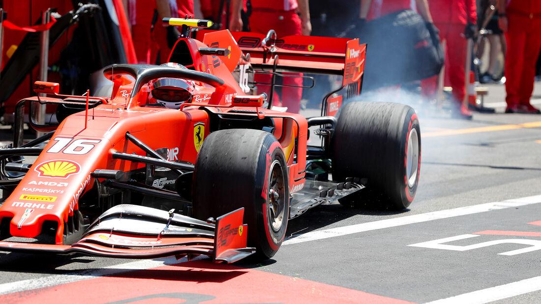 Charles Leclerc - Ferrari - Formel 1 - GP Frankreich - 21. Juni 2019