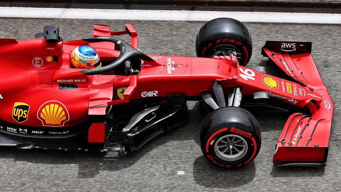 Charles Leclerc - Ferrari - Formel 1 - GP Frankreich - Le Castellet - 19. Juni 2021