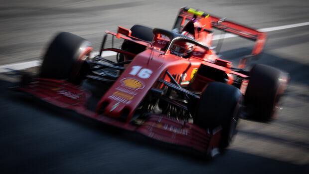 Charles Leclerc - Ferrari - Formel 1 - GP Italien - Monza - 4. September 2020