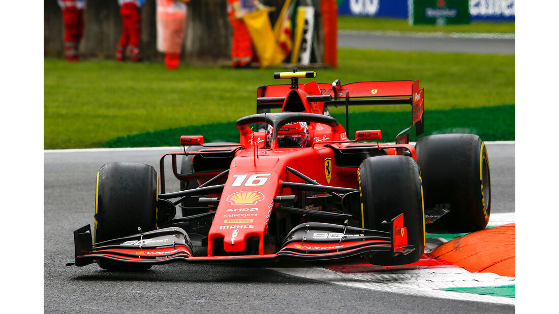 Charles Leclerc - Ferrari - Formel 1 - GP Italien - Monza - 6. September 2019