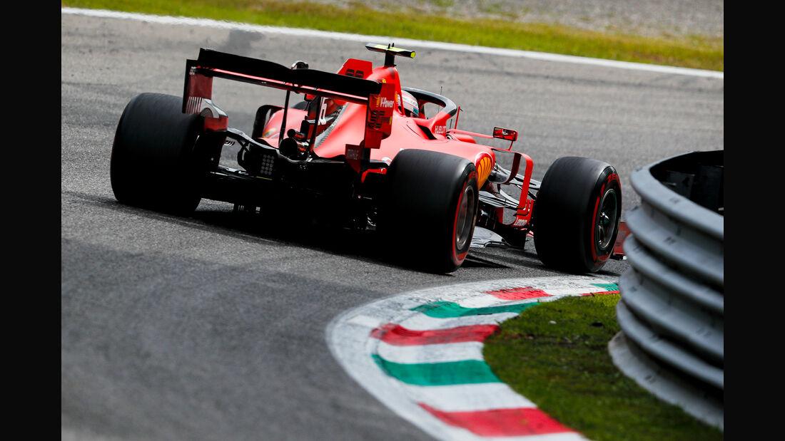 Charles Leclerc - Ferrari  - Formel 1 - GP Italien - Monza - 7. September 2019