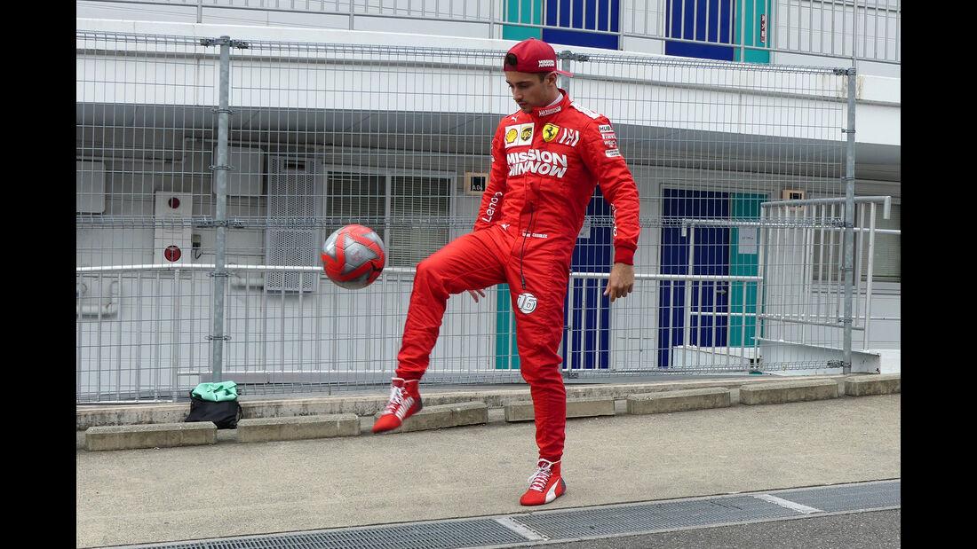 Charles Leclerc - Ferrari - Formel 1 - GP Japan - Suzuka - 11. Oktober 2019