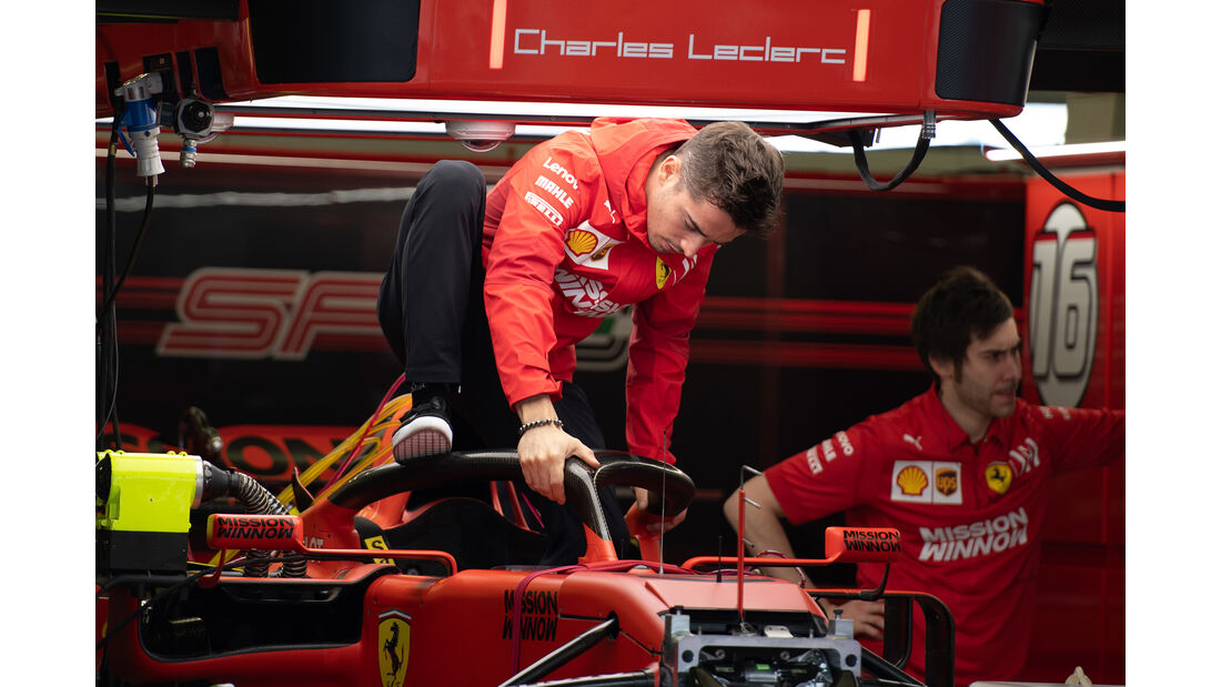 Charles Leclerc - Ferrari - Formel 1 - GP Mexiko - 24. Oktober 2019