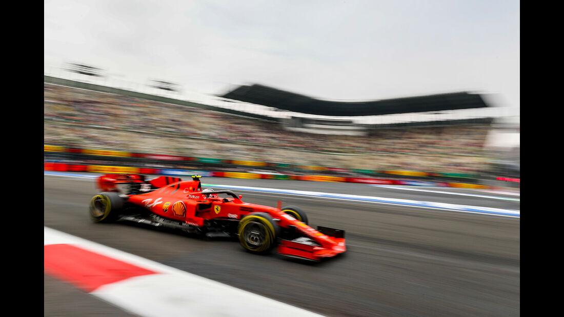 Charles Leclerc - Ferrari - Formel 1 - GP Mexiko - 25. Oktober 2019