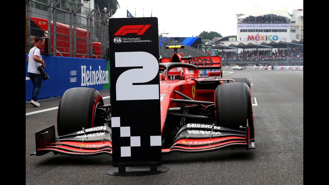 Charles Leclerc  - Ferrari - Formel 1 - GP Mexiko - 26. Oktober 2019