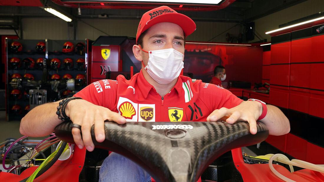 Charles Leclerc - Ferrari - Formel 1 - GP Monaco - 19. Mai 2021