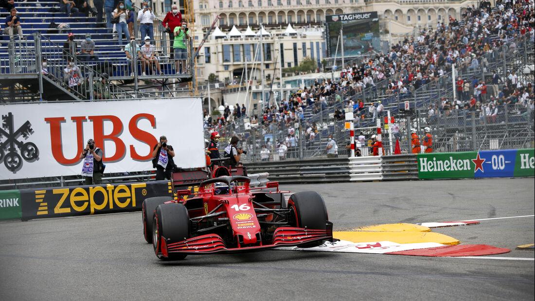 Charles Leclerc - Ferrari - Formel 1 - GP Monaco 2021