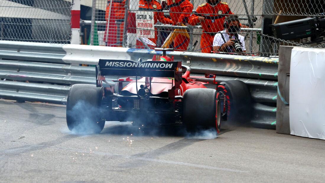 Charles Leclerc - Ferrari - Formel 1 - GP Monaco - 22. Mai 2021