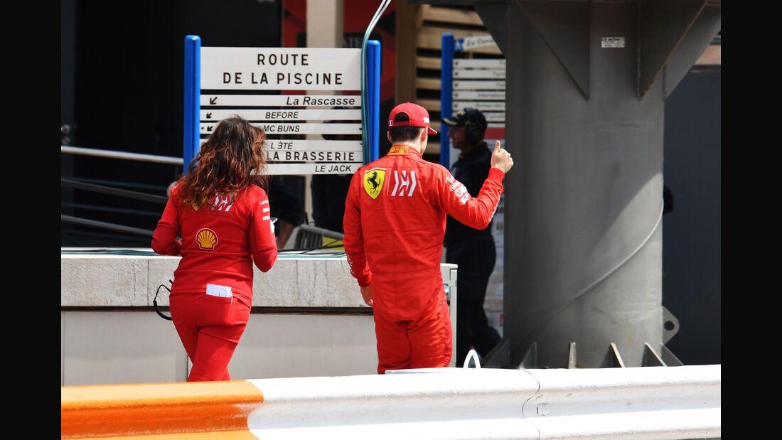 Charles Leclerc - Ferrari - Formel 1 - GP Monaco - 25. Mai 2019