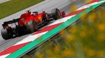 Charles Leclerc - Ferrari - Formel 1 - GP Österreich - 4. Juli 2020