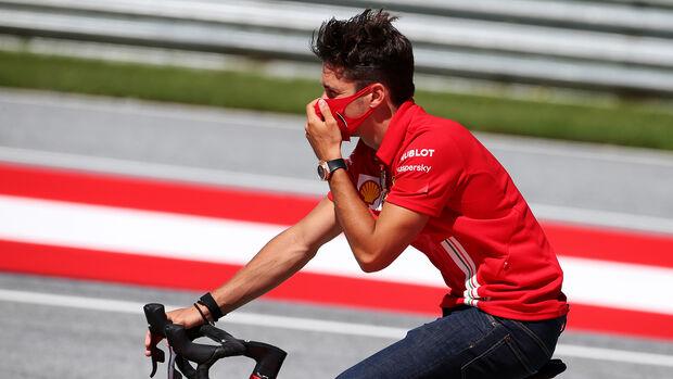 Charles Leclerc - Ferrari - Formel 1 - GP Österreich - Spielberg - 2. Juli 2020